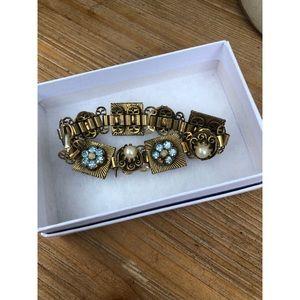 Vintage Gold Tennis Bracelet
